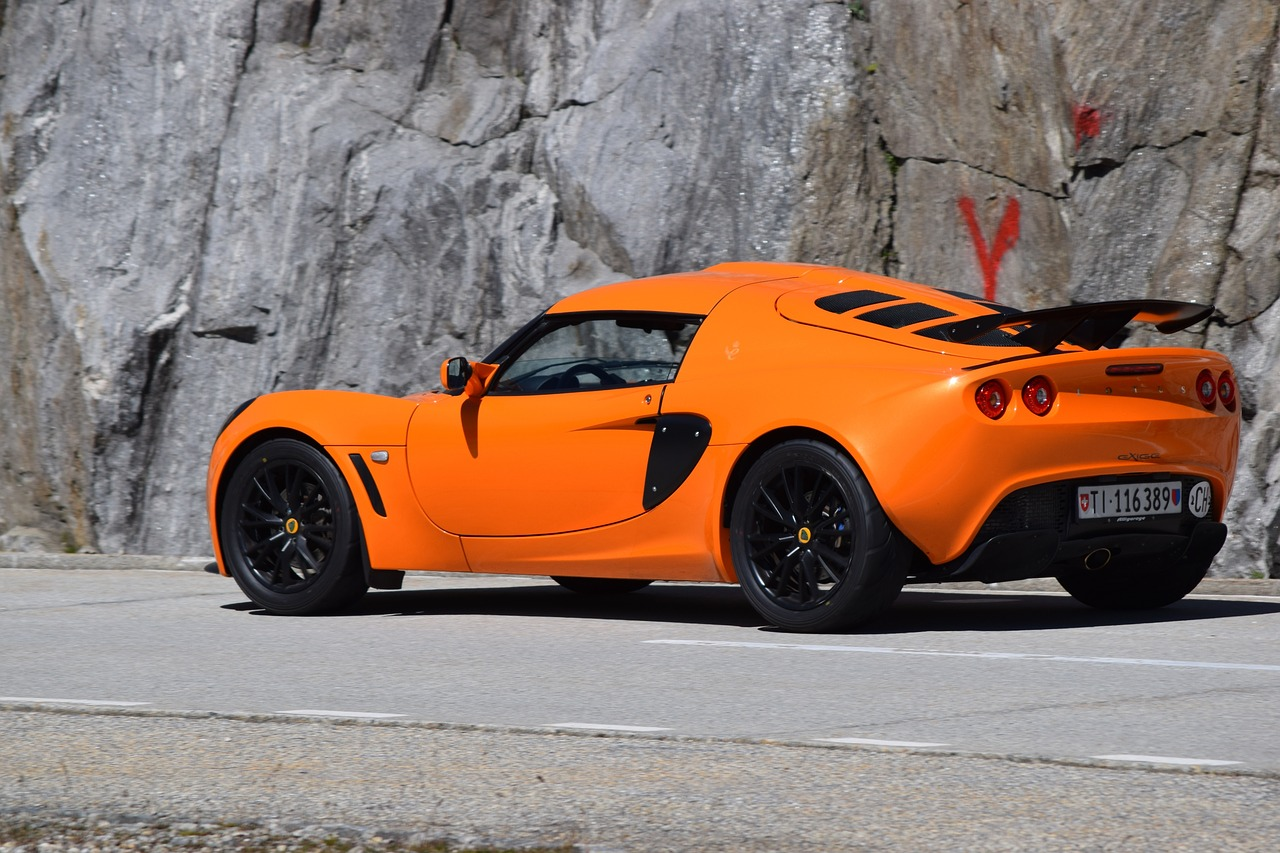 Outstanding Orange Cars