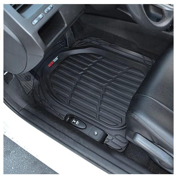 Heavy Duty Rubber Floor Mats for Car SUV Truck & Van-All Weather Protection