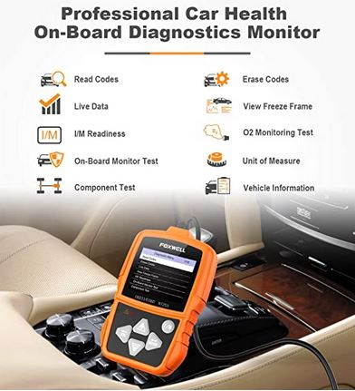 Auto OBD2 Scanner Check Car Engine Light Code Reader